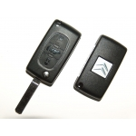 Telemando Plegable Para Citroen Berlingo 2008< ID 46 3 Botones