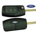 telemando 3 botones con espadin plegable para Ford Focus