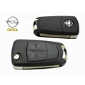 Housing For Folding Remote Control Opel of 2 Buttons