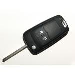 Telemando Plegable Para Opel Astra J / Insignia de 2 Botones