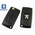 Folding Remote Peugeot 207 CC 3 Buttons ID46