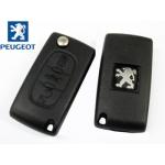 Telemando Plegable Peugeot 207 CC 3 Botones ID46