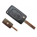 Folding Remote Control Peugeot Partner 2008> ID46