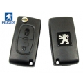 Folding Remote Control With Key For Peugeot 207 / 307 / 308