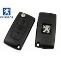 Remote Control For Peugeot 407 With Folding Key