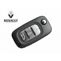 Remote Control For Renault Clio 2009> 3 Button Keyless