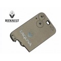 Remote Card For Renault Laguna 2001>2005 2 Buttons (Referecy 7701209122)