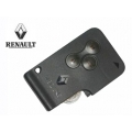 Remote Control Card For Renault Megane 2 2002>2010 of 3 Buttons
