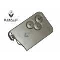 Telemando Para Renault Vel Satis de 3 Botones Tarjeta Inteligente por Proximidad