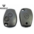 REMOTE CONTROL FOR RENAULT CLIO III 2 BUTTONS WITHOUT SPRAT
