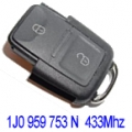 Remote Volkswagen Golf IV 1998>2001 2 Buttons