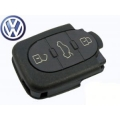 Remote Volkswagen New Beetle 1999>2001 3 Buttons Oval Folding