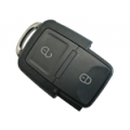 Remote Volkswagen Golf IV 2003>2006 Folding 2 Buttons Square