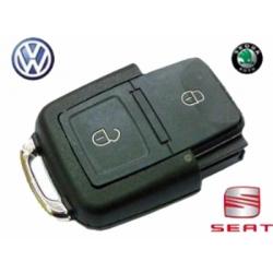 Telemando 2 Botones Para Volkswagen / Seat / Skoda (((959 753 N)))