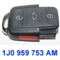 VW remote control 1J0 959 753 AM