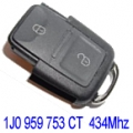 Remote Volkswagen Golf IV 2002>2006 2 Buttons