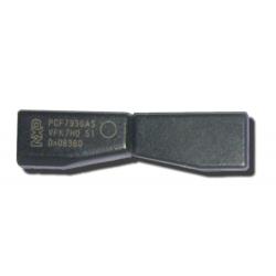 Transponder Philips ceramica ID 46 precodificado para Opel 2º generacion PCF7936AS